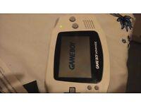 Nintendo Gameboy Advance boxed SP game boy 32 bit