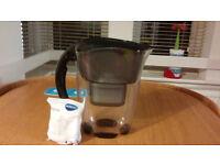 Used Brita water filter jug + New catridge