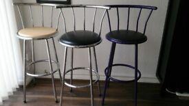 Kitchen bar stools x 3