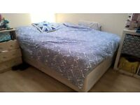 2x double beds with mattress less than 12 months old. £75 each