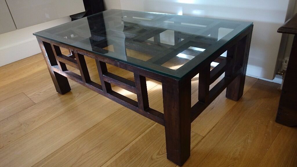 Coffee Table - NOW REDUCED - Puji - solid reclaimed teak ...