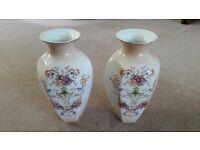 Pair of Crown Ducal Vases
