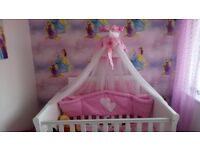 3 in 1 sleigh cot bed