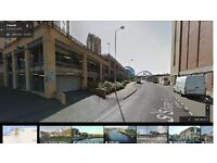 Secure car park in Central location (Millenium Bridge, Baltic Mill, Sage) available from September