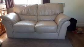 Two seater sofa settee