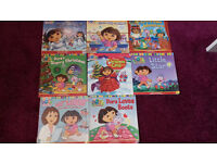 Set of 8 Dora the Explorer books