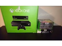 Xbox One With Kinect and 10 Games