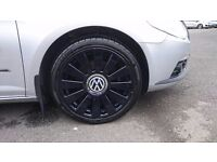 """18""""5x112 audi alloys for sale with good tyres"""