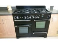 Rangemaster Kitchener 110 Cooker with gas hob and electric ovens