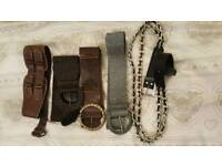 Variety of belts