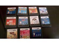 Various Nintendo ds games for sale please see description