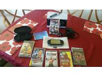Psp- 2003 pb console and games