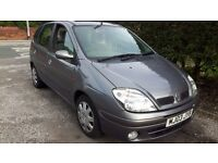 2003 RENAULT SCENIC 1.6 DRIVES GREAT MOT MAY 2017 109K TWIN SUNROOFS