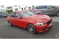 BMW Late 2012 3 Series - * F30 - M Performance - Red * Not Audi Seat Ford Volkswagen Honda Mercedes