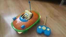 Spongebob remote car