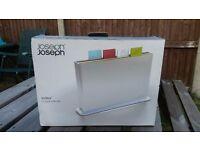 Joseph Joseph Index Advance Chopping Board Set, Silver