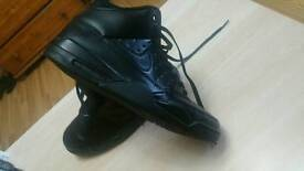 Nike air max black color size 10uk or 45 EU used one time .bargain