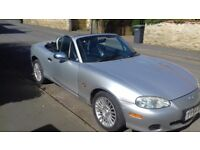Mazda MX5 limited Edition 2 seater convertible sports car