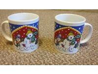 Christmas mugs