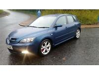 2007 MAZDA 3 2.0 PETROL ONLY 67,000 MILES FULL YEARS MOT ALLOY WHEELS GREAT VALUE!