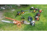 chainsaws job lot spares or repair