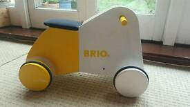 Brio wooden ride on