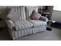 1 three seater and 1 two seater sofas