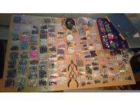 Jewellery making everything you need. Beads tools wire cases