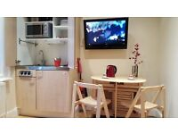 STUDIO FLAT FOR SUMMER -available NOW FROM 350pw ALL INCLUSIVE-single/couple