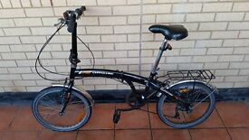 Italian Foldable Bike In Good Condition