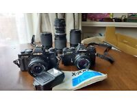 Minolta xd7 and x700 + 6 lenses - BARGAIN!