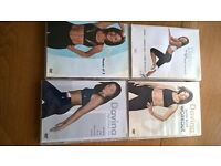 DAVINA DVD 4 DIFFERENT WORKOUTS