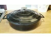 New ProCook cast iron casserole dish