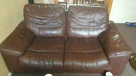 3 seater and 2 seater electric reclining sofas