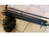 Drain/chimney cleaning rods