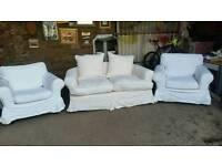 White Fabric Suite