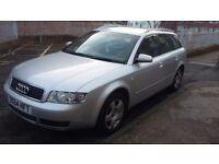 Audi a4 1.9tdi pd ,130bhp quattro ,2004.£1500 ono