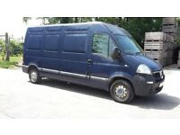 Vauxhall Movano long wheelbase van in excellent condition with low mileage and full MOT