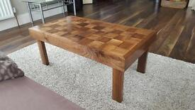 Handmade Solid Walnut Coffee Table