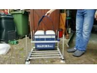 Matchbox seat box / fishing platform