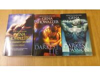 Lords of The Underworld, Books 6, 7 & 8 By Gena Showalter