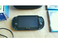 PSVITA 3g Wifi with 4 games mint condition