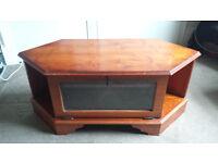 Solid TV Corner Cabinet - Bargain!