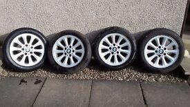 1 Series BMW Alloy wheels