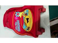 Little Miss Sunshine child's trolley bag