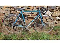 Vtg Retro French Motobecane - Motoconfort Men's Blue Racing Road Touring Bike