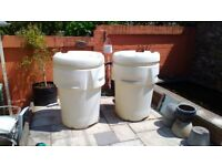 Water butts. Large approx 500L each.