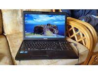 toshiba satellite c660 windows 7 500 g hard drive 6g memory webcam wifi intel I core 3