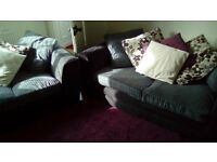2 sofas. one 2 seater and one large 2 seater