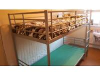 Ikea metal bunkbed